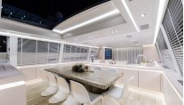 Luxury yacht Ecrider - Dining