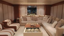 Luxury yacht Eileen - Saloon