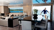 Luxury yacht Far Away - Dining