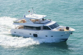Luxury yacht Gulf 75 Exp