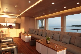 Luxury yacht Heliad II - Lounge area on the bridge deck.JPG