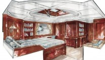 Luxury yacht Imagination - Cabin