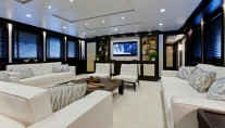 Luxury yacht Karia Main Salon