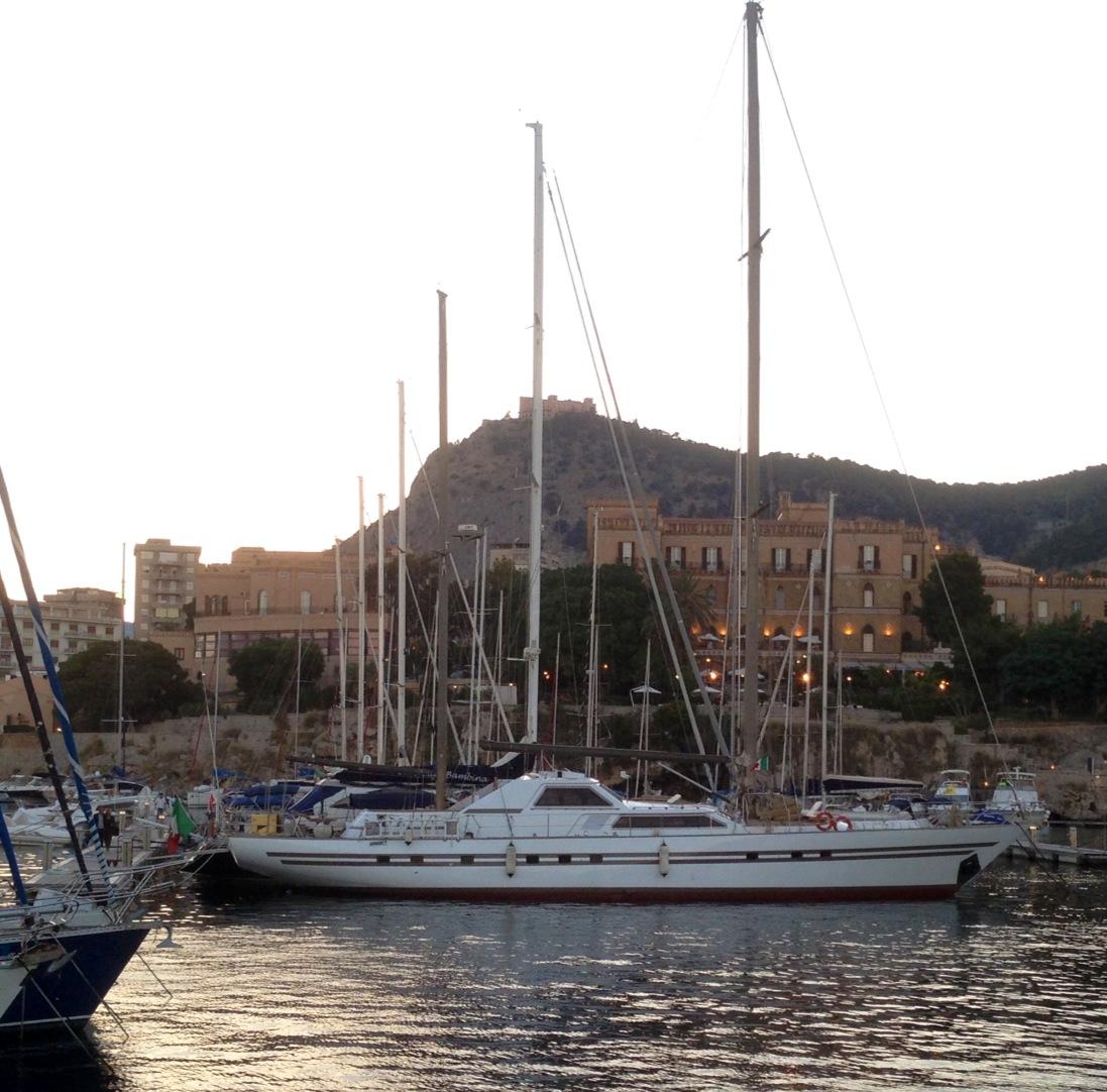 Motor Sailer Yacht My Lotty Ex Serena A Benetti Sail