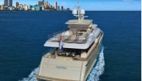 Luxury yacht Matica - aft view