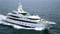 Luxury yacht NATITA ex Dilbar running