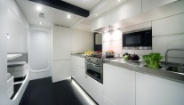 Luxury yacht Nomade IV - Galley