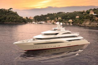 Luxury yacht OPari3