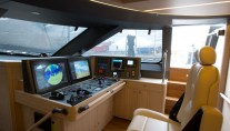 Luxury yacht Ohana - Wheelhouse Credit Fitzroy Yachts