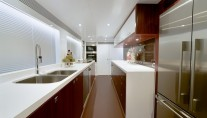 Luxury yacht Paradise - Galley