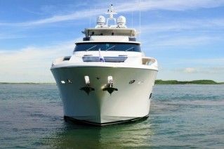 Luxury yacht Paradise - front view