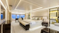 Luxury yacht Polaris - Master Cabin