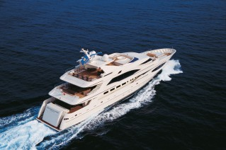 Luxury yacht Princess Iolanthe - Image courtesy of Mondo Marine
