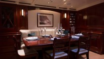 Luxury yacht Rainbow - Dining