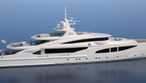 Luxury yacht Route 66 - side view-001