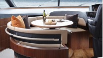 Luxury yacht S72 - Dining Area