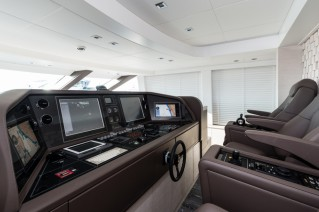 Luxury yacht SEAFIRE - Wheelhouse