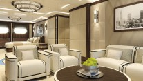 Luxury yacht SOMETHING COOL - Cabin - Image credit to Dutchmegayachts