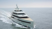 Luxury yacht Savannah underway - Photo by Feadship Royal Dutch Shipyards