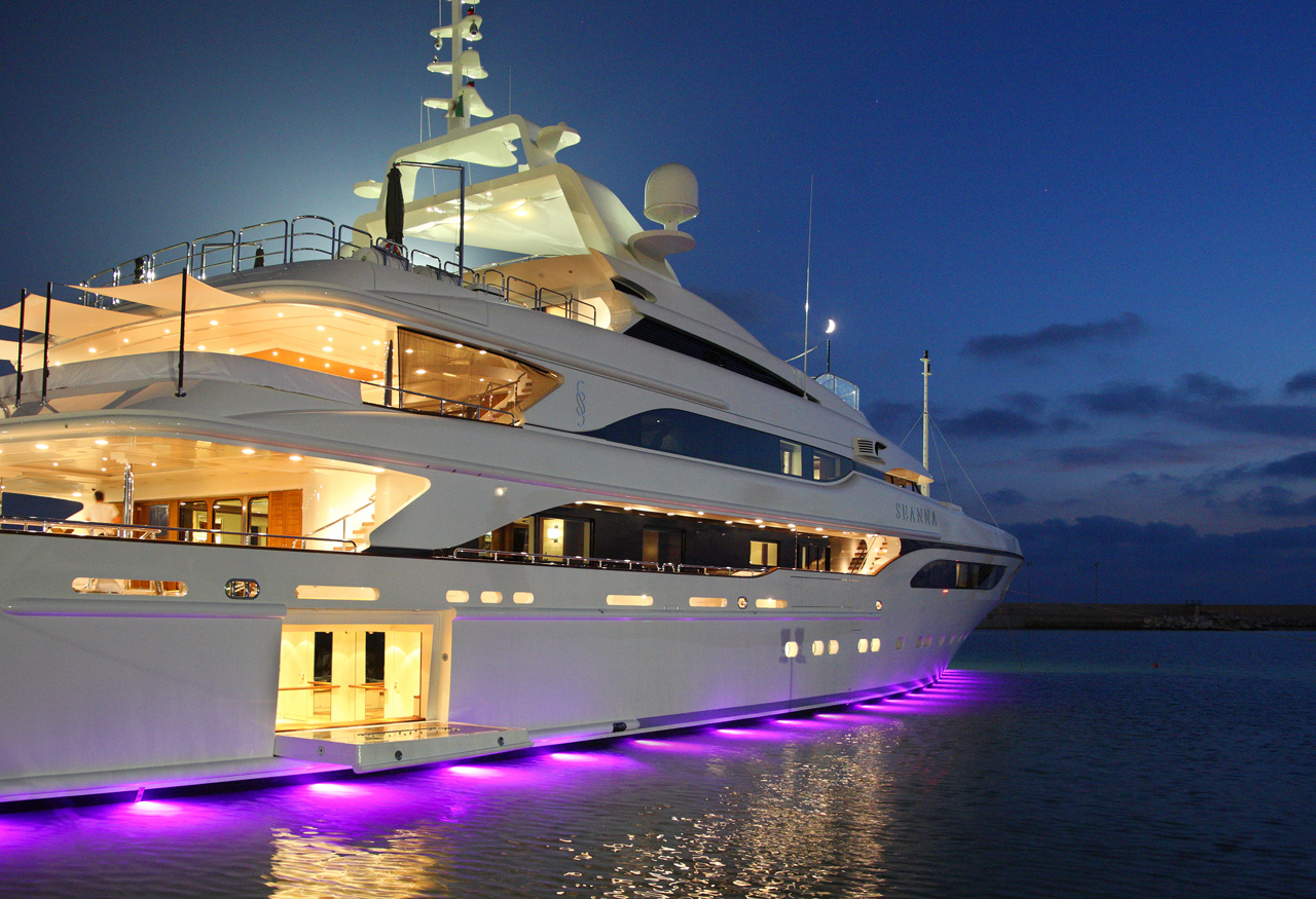 motor yacht seanna