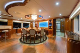 Luxury yacht Sehamia - Dining Area