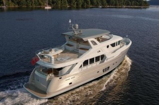 Luxury yacht Selene 78 Ocean Explorer - aft view