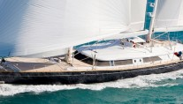 Luxury yacht Silvana