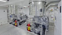 Luxury yacht Stella di Mare - Engine Room