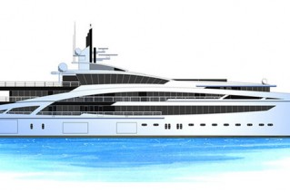 Luxury yacht V853
