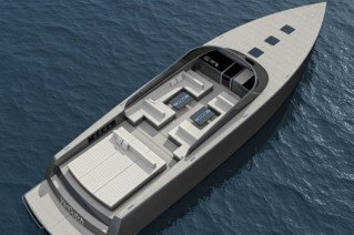 Luxury yacht VanDutch 70