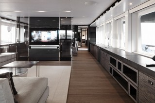 Luxury yacht Ventura - Interior Photo Dick Holthuis