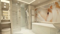 Luxury yacht ZENITH - Bathroom
