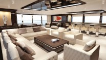 Luxury yacht ZENITH - Saloon