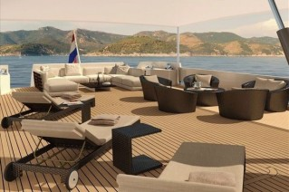 Luxury yacht support vessel Project YXT One -Yacht X Tender One - Exterior