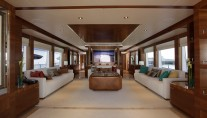 Lxuury yacht Majesty 105 - Main Saloon