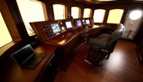 M&M superyacht - Wheelhouse