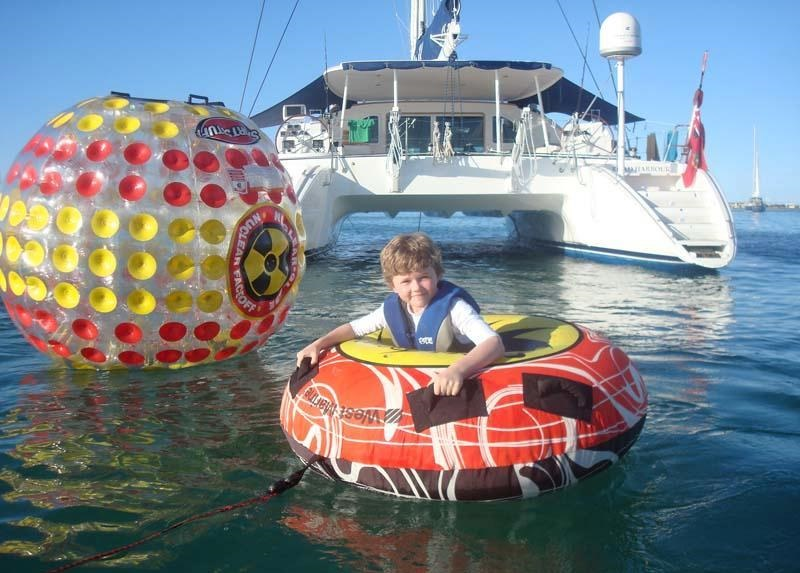 Luxury Yacht Charter Catamaran Ma Ha Ma Ha Water Toys