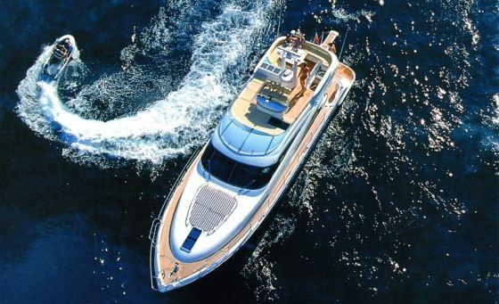 mali karlo yacht charter details  fairline squadron 58