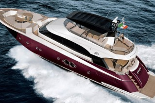 MCY 76 Yacht - Upview