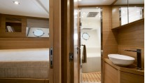 MCY 86 Yacht - Crew Cabin and Bathroom