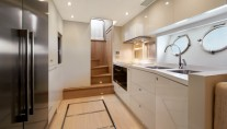 MCY 86 Yacht - Galley