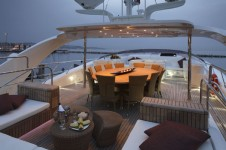 MIDNIGHT SUN MILOU Flybridge