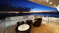 MILK AND HONEY - Upper aft deck