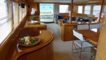 MISS DANA -  Salon looking Aft