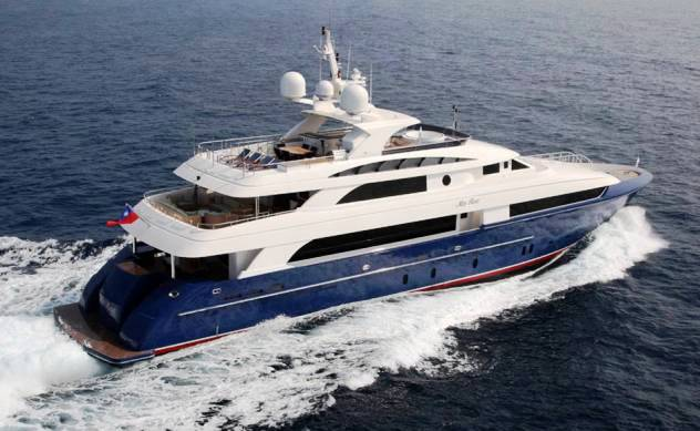 Motor yacht�LADY LEILA (ex MISS ROSE)