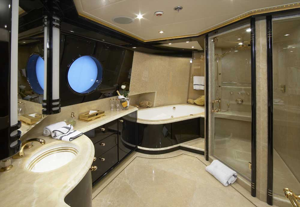 lady leila miss rose the master ensuite luxury yacht