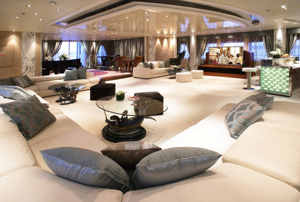 Main Salon Image Gallery Luxury Yacht Gallery Browser