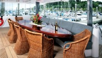 MR. TERRIBLE -  Aft Deck Dining