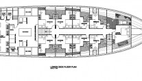 MV Orion Lower Deck Floor Plan