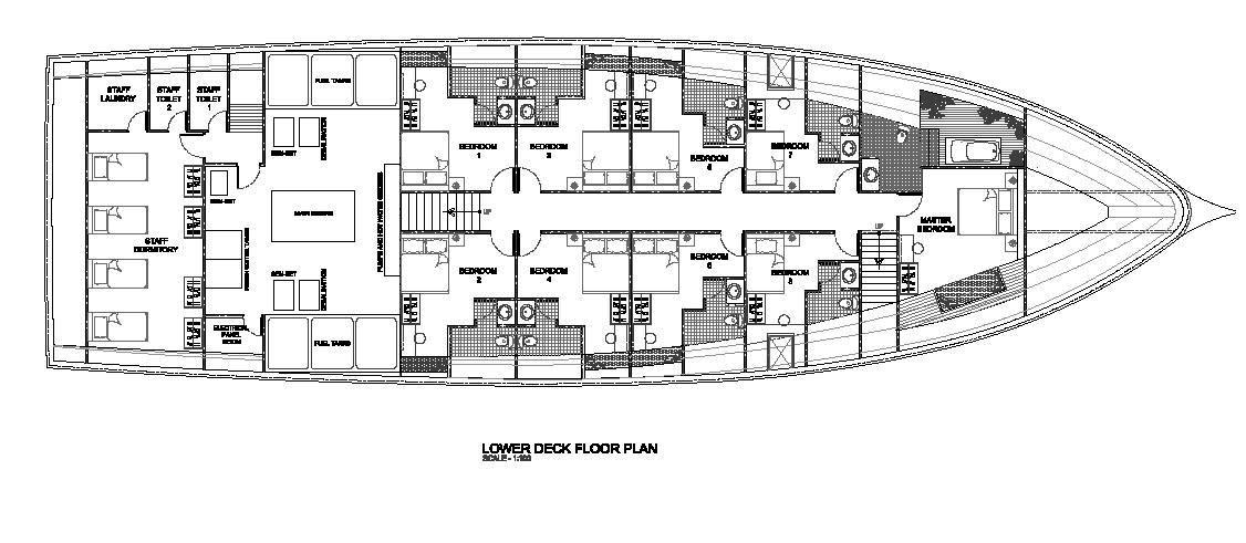 luxury yacht charter my orion mv orion lower deck floor plan on luxury yacht floor plans